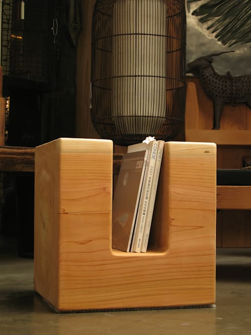 翻滾方几:  室內景觀 by 四一室內裝修有限公司