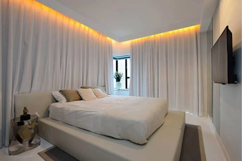 MONTVERT FINESSE BANER: asian Bedroom by decormyplace.com