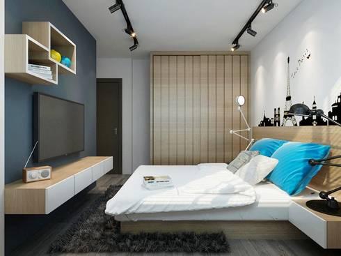 IMPERIUM BALEWADI: modern Bedroom by decormyplace.com