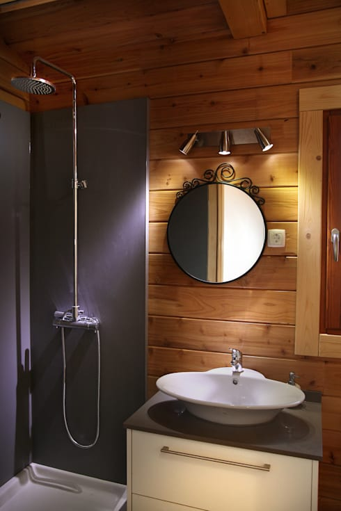 浴室 by Rusticasa