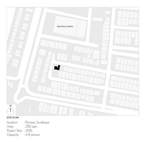 Site Plan:   by studiopapa