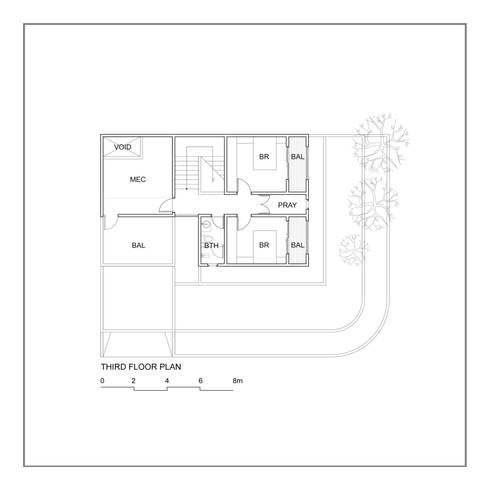 Denah Lantai 3:   by studiopapa