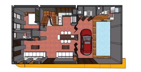 Casa Barichara: Fincas de estilo  por Heritage Design GROUP