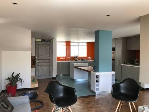 Remodelacion Apartamento Bogota:  de estilo  por Heritage Design GROUP