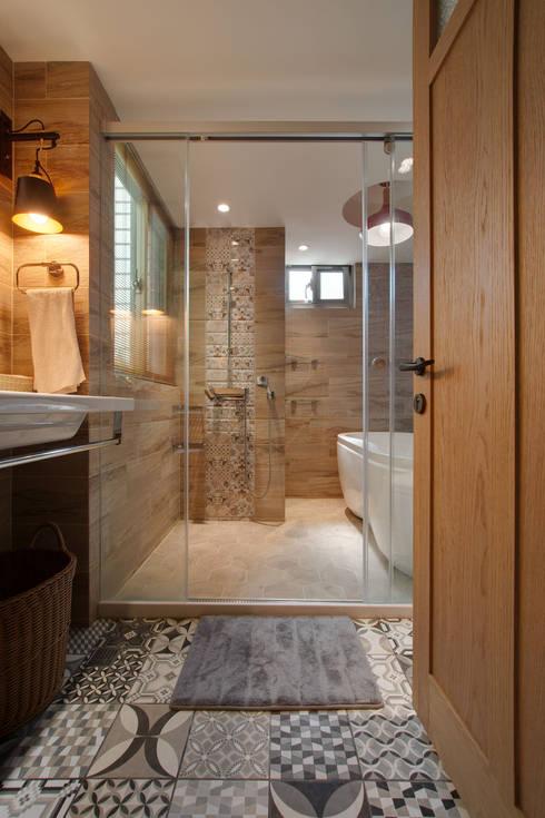 光陰的故事:  浴室 by 哲嘉室內規劃設計有限公司