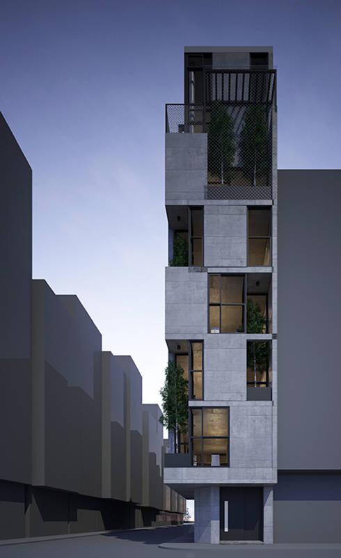 HTK Office & Residence:  Tòa nhà văn phòng by Studio8 Architecture & Urban Design