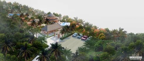 Malaka Villas:  Hotels by Skye Architect