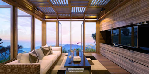 Lounge Villas View:  Hotels by Skye Architect
