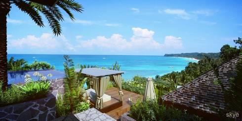 Malaka Beach Views:  Hotels by Skye Architect