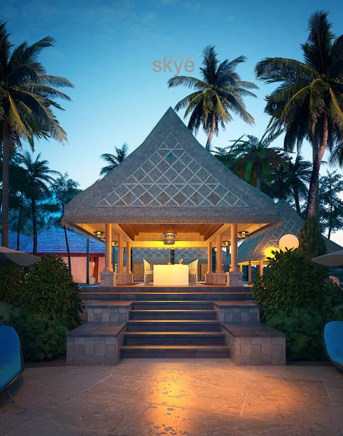 Gazebo Views:  Hotels by Skye Architect