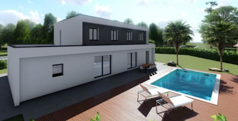 Permis De Construire Pour Une Maison Avec Toit Terrasse Par