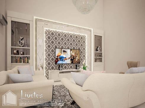 Living Room:  Ruang Keluarga by PT Kreasi Cemerlang Abadi