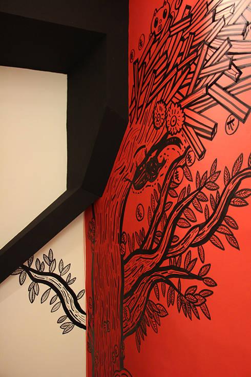 造型設計:  辦公室&店面 by 四一室內裝修有限公司