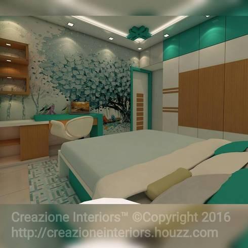 modern Bedroom by Creazione Interiors