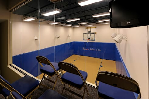 Purchase Consultation and Whole House Renovation in Potomac, Maryland: classic Gym by BOWA - Design Build Experts
