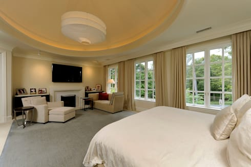 Purchase Consultation and Whole House Renovation in Potomac, Maryland: classic Bedroom by BOWA - Design Build Experts