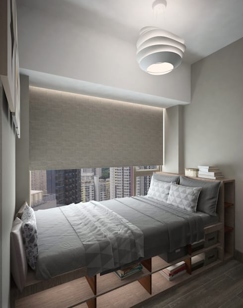 Cadogan | Kennedy Town | Hong Kong:  Bedroom by Nelson W Design