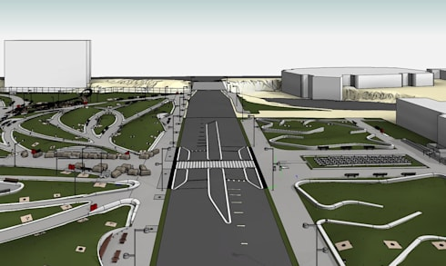 Mainstreet View - LOD 300 Modelling:   by Hi-Tech CADD Services