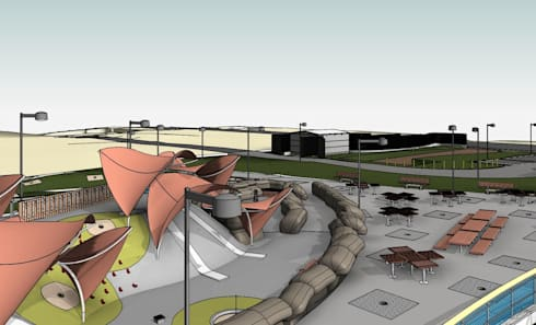 Panoramic View - LOD 300 Modelling:   by Hi-Tech CADD Services