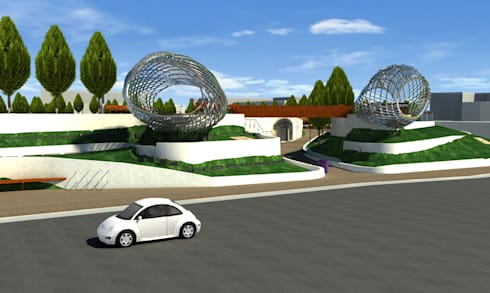 Perspective View - LOD 300 Modelling:   by Hi-Tech CADD Services