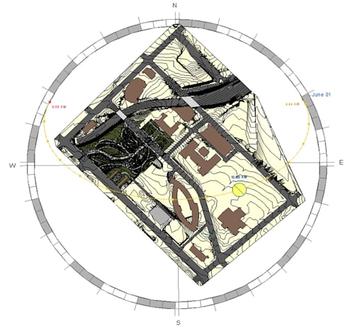 LOD 300 Modelling according to AIA Standards for a Reputed Public Park in USA :   by Hi-Tech CADD Services