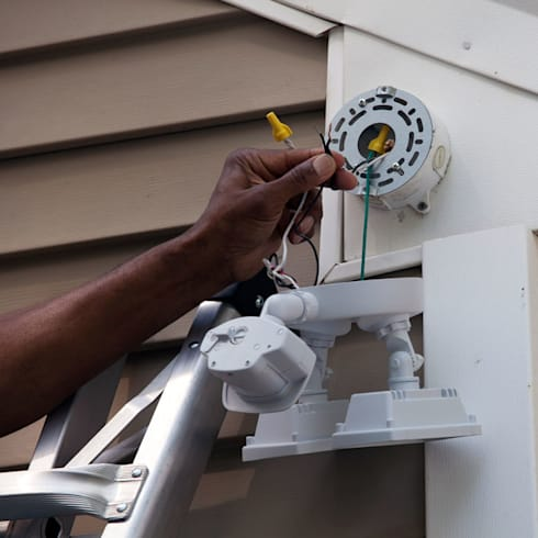 Security Lighting Repairs:   by Electricians Centurion