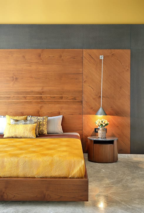 kabir bungalow: modern Bedroom by USINE STUDIO