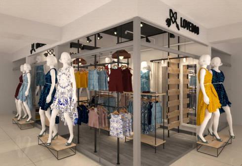 Espacios comerciales de estilo  por Priscila Meza Marrero