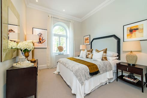 Drayton Gardens: classic Bedroom by Maxmar Construction LTD