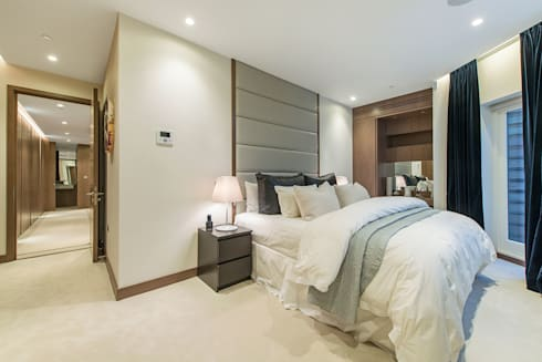 Lennox Gardens: modern Bedroom by Maxmar Construction LTD