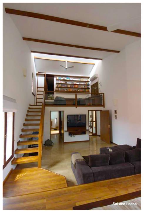 Kannan - Sonali and Gaurav's residence:  Study/office by Sandarbh Design Studio