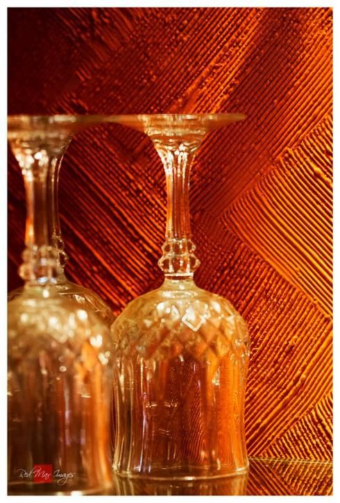 Sharada: eclectic Wine cellar by Sandarbh Design Studio