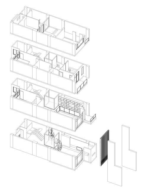 Salas de estilo moderno por EO design studio