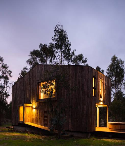 Chalets de estilo  por Dx Arquitectos