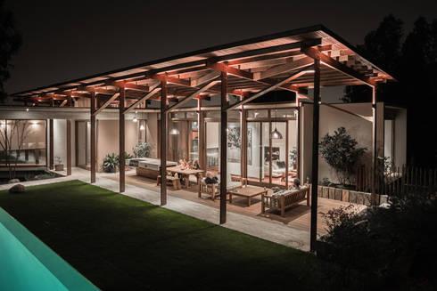 Casa Terraza: Livings de estilo moderno por Dx Arquitectos