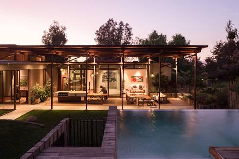 Casa Terraza: Piscinas de jardín de estilo  por Dx Arquitectos
