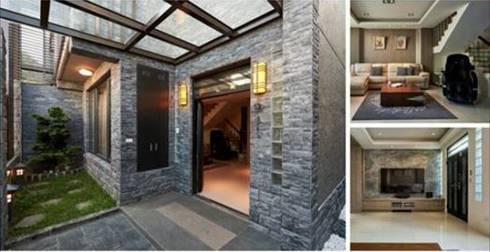 Casas de estilo industrial por press profile homify