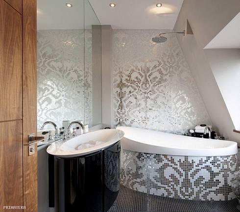 Панно из мозаики в ванную купить