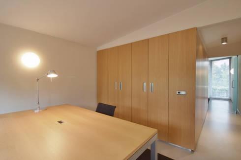 interieur C te Klimmen: moderne Studeerkamer/kantoor door CHORA architecten