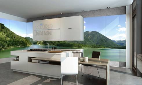 3. glasbilder in der kÜche by mitko design | homify - Glasbilder Für Küche