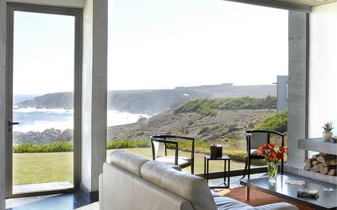 Casa Rabanua: Livings de estilo moderno por Dx Arquitectos