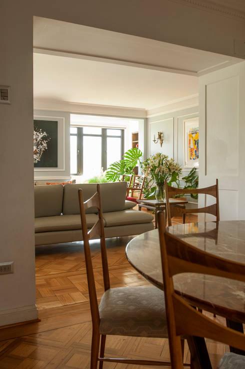 Departamento Forestal : Comedores de estilo clásico por Dx Arquitectos