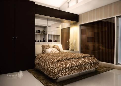 main bedroom:  Kamar Tidur by ilalangcorp