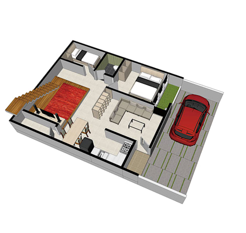 floor plan:   by ilalangcorp