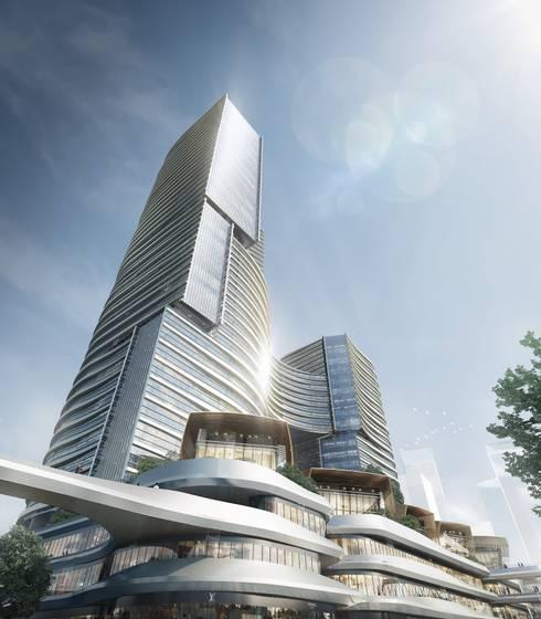 MCC Port Complex, Zhuhai, China:  Commercial Spaces by Aedas