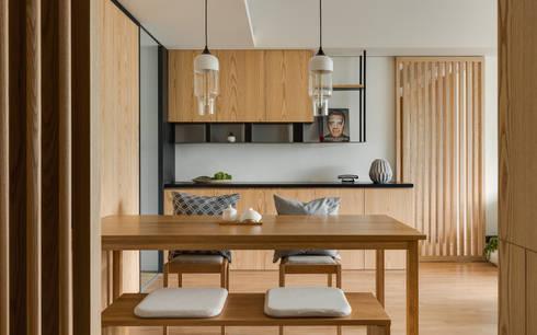 餐廳空間:  餐廳 by 御見設計企業有限公司
