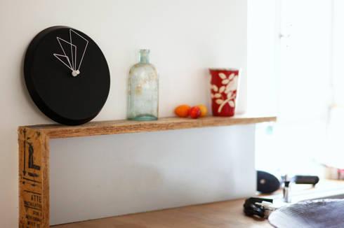 Studiove D Clock: modern Bedroom by Just For Clocks