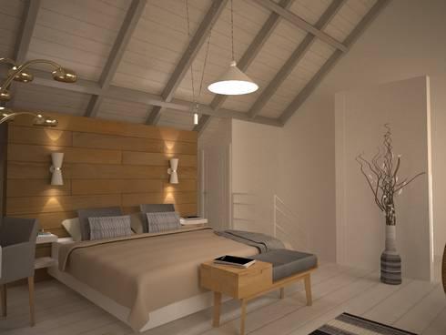 scandinavian Bedroom by Isabel Gomez Interiors