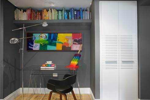 Home office: Oficinas de estilo moderno por Pic & Deco