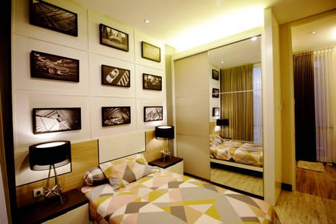Kid bedroom:  Kamar Tidur by Kottagaris interior design consultant